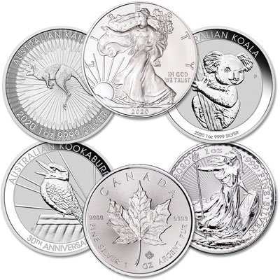 .999 FINE SILVER COINS - coin shop in lutz