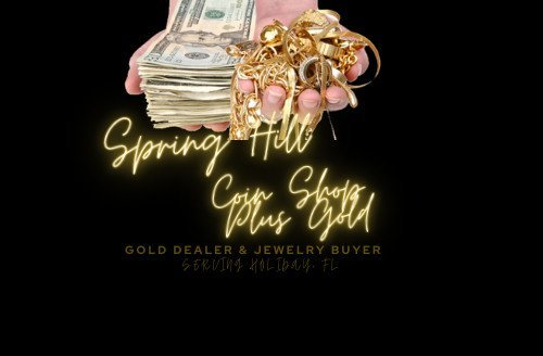 Spring Hill Coin Shop Plus Gold: Serving Holiday FL - Gold, Silver, Platinum Dealer. Bullion. Bars & Rounds. Coin Shop. Coin Dealer. Jewelry Buyer. Scrap Gold. Cash For Gold.