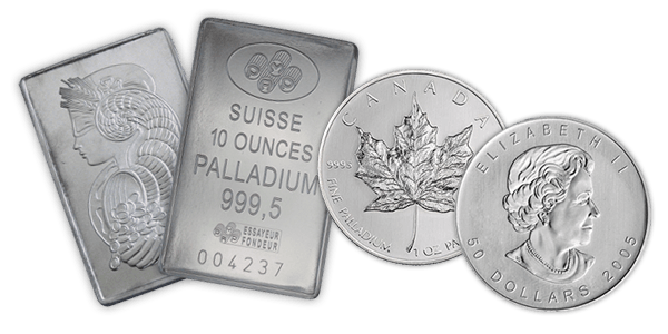 Vermillion Enterprises buys and sells Palladium Bullion. Palladium Bars, Rounds, and Coins. No collection is too large or too small. Serving Brooksville, Crystal River, Dade City, Clearwater, Floral City, Gainesville, Holiday FL, Homosassa, Hudson FL, Inverness FL, Land O Lakes, Lecanto, Lutz, Odessa FL, Palm Harbor, Spring Hill, Tampa FL, Tarpon Springs, Wesley Chapel, Zephyrhills